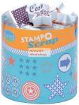 Scrapbook nyomda - Csillagok és nyilak (festékpárnával)