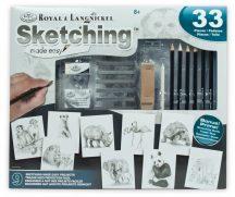 Kreatív hobby - Hobby művész - Grafikai készlet - Rajzolj könnyen állatokat!