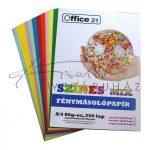 Nyomtatható papír - Vegyes színek, 250 lap - Színes fénymásolópapír, A4, 80gr