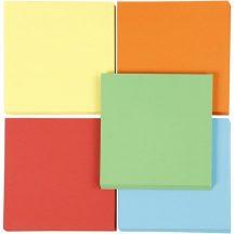 Origami papír 15x15 cm - 5 féle színben, 400 lapos gazdaságos készlet