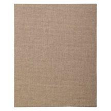 Kasírozott festővászon, alapozott, natúr - Clairefontaine - 18x24 cm