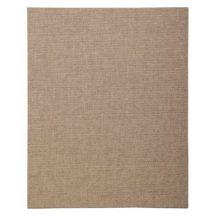 Kasírozott festővászon, alapozott, natúr - Clairefontaine - 24x30 cm