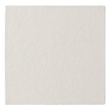 Kasírozott festővászon, alapozott, fehér - Clairefontaine - 20x20 cm