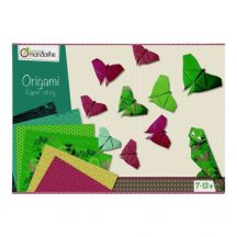 Origami papír készlet - Különleges origami papírok dobozos készletben - Lepkék