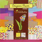 Origami papír - 60 lapos hajtogató készlet 20x20 cm - CSUPA PÖTTY!