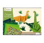 Origami papír készlet - Különleges origami papírok dobozos készletben - Dínók