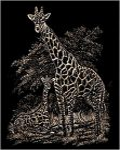 Kreatív hobby - Zsiráfok