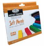 Porpasztell készlet 24 db - Vegyes színek