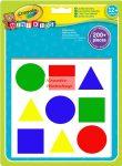 Kreatív hobby - Crayola Óriás matrica készlet 12 hónapos kortól, 2