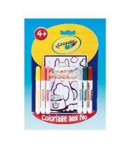 Crayola mini kifestőkészlet filcekkel és sablonokkal