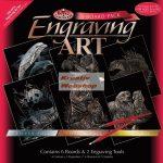 Kreatív hobby: Képkarcoló készlet 6 az 1-ben - Vadvilág válogatás készlet