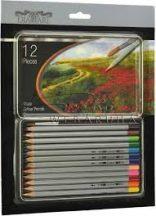 Diamart 12 darabos akvarell ceruza készlet ecsettel