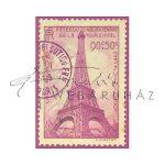 Dekupázs rizspapír A4 - Eiffel torony bélyegzővel