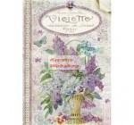 A4 Dekupázs rizspapír Violets