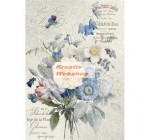 Dekupázs rizspapír A4 csom. - Old England bouquet