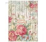 Dekupázs rizspapír A4 csomag - Virágok famintás alapon