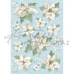 Dekupázs rizspapír A4 - Virágok