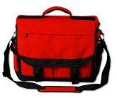Nagyméretű művész utazótáska - válltáska, piros színű