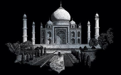 Kreatív hobby - Taj Mahal