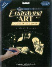 Kreatív hobby - Karcfólia, holografikus 6 db-os - 20x25 cm