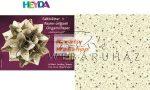 Kreatív hobby - Origami papír - Curlie Cream Krém - arany hajtogató készlet 15x15 cm