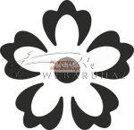 Mintalyukasztó - nagy virágminta lyukasztó