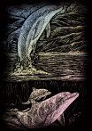 Kreatív hobby - Holografikus - Delfin