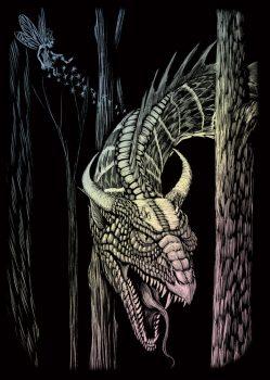 Kreatív hobby - Holografikus - Sárkány
