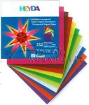 Origami - Transzparens origami papír 10 x 10 cm, 250 lapot tartalmaz