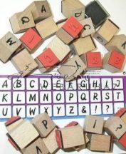 Nagy betűk Fanyomda