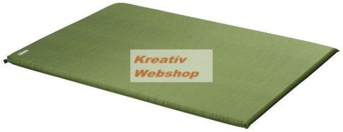 Önfelfújó kemping matrac, 60 cm széles, 5 cm vastag