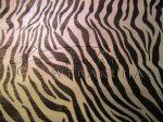 Krepp papír zebra mintás