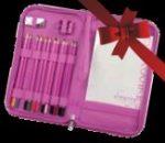 Kreatív hobby - PINK színes ceruzakészlet cipzáras tartóban