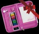 Kreatív hobby - PINK pasztell készlet zippzáras