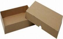 Papírdoboz - natúr, A4, 10cm magas, kihajtogatható
