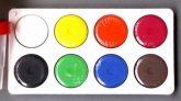 Gombfesték készlet - Óriás gombfesték - 8 színű