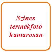 Organza szalag ezüst - 6 mm széles, 12 m hosszú tekercs