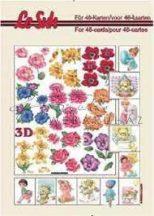 Virágok, 3D füzet
