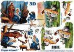 Szent család Betlehemben - Jézus a nyájjal, Fázisos 3D