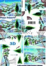 Karácsonyi táj, Fázisos 3D
