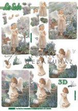 Imádkozó kislány, Fázisos 3D
