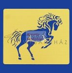 Kreatív hobby - Embossing sablon - Ló