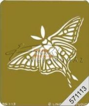 Embossing sablon - Pillangó