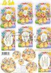Húsvéti csibék 3D