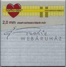 Ragasztókocka - Fekete 2mm - 3D Ragasztókocka 5 x 5 mm, holland