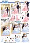 Esküvő, előre kivágott Fázisos 3D képek