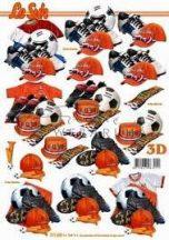 Holland foci szurkoló, Fázisos 3D