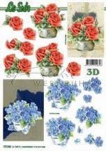 Cserepes virágok, Fázisos 3D