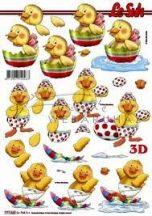 Bébi kacsák, Fázisos 3D