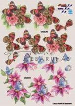 Virágok és pillangók, Fázisos 3D